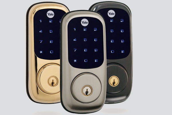 Yale Real Living Touchscreen Deadbolt for Security Systems