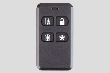 4-button Key Ring Remote for Security System