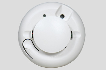 Wireless Smoke and Heat Detector for Security Systems